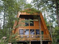 Exactly as described. Cosy cabin in the woods.