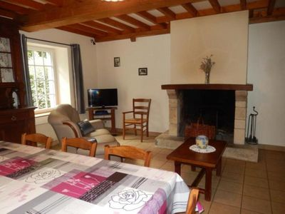 Photo for Gite Saint-Christophe-du-Foc, 4 bedrooms, 10 persons