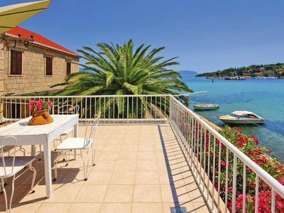 Photo for holiday home Punta, Lumbarda  in Korcula - 9 persons, 4 bedrooms