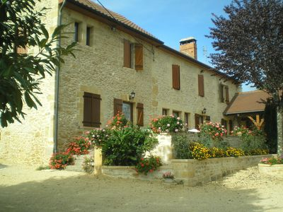 Photo for LODGING FOR 4 PEOPLE DS STONE HOUSE OF THE COUNTRY IN SARLAT LA CANEDA