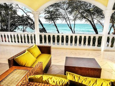Photo for Sosua Party Oceanfront VILLA in secured gated community up to 24 guests.