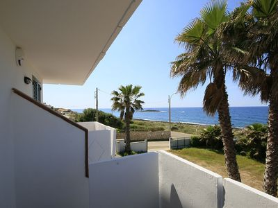 Photo for Cozy three-room apartment 100 meters from the beach of Lido Pazze. The property consists of an outdo