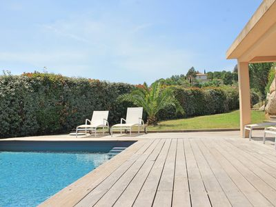 Photo for Villa Punta d'Oro with pool sea view 12/15 people