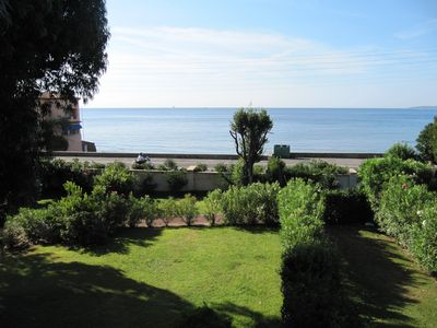 Photo for Beachside Villa. With Large Private Garden in walled Domaine