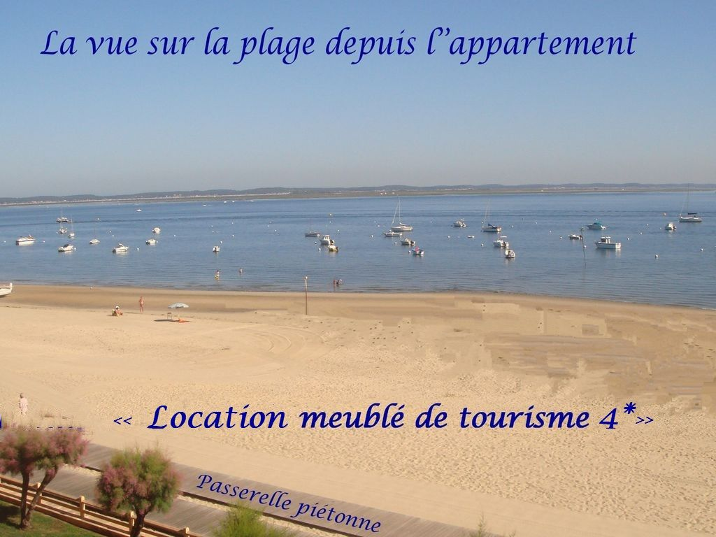 Appartement Standing centre-ville Vue Mer Direct Plage 4****WIFI INTERNET