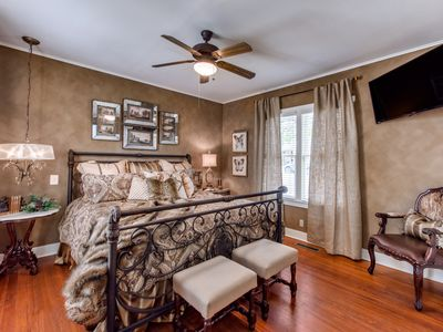 Photo for Luxury Crockett Street Retreat- private hot tub and outdoor fireplace! Downtown
