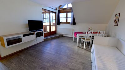 Photo for Apartment with sauna, balcony & private beach Sonne 4c