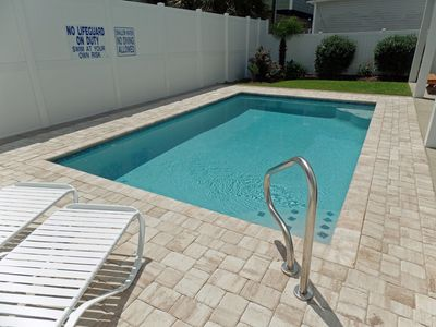 Photo for Private salt-water pool Pet Friendly