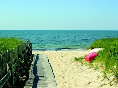 Photo for Longell Rd 4- Oceanfront home with shared private beach!  Private deck!