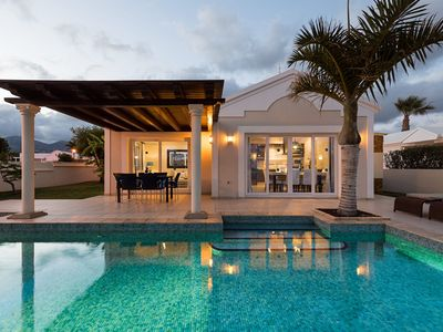 Photo for Puerto del Carmen Villa, Sleeps 6 with Pool, Air Con and WiFi