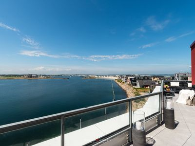 Photo for Penthouse for 4 pers. with a large terrace and a fantastic view over the Baltic Sea