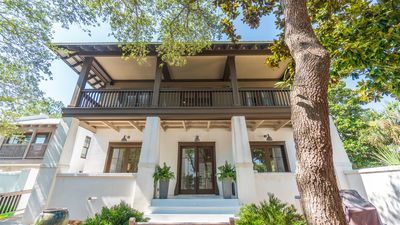 Photo for Luxury Gulf-Side Rosemary Beach Vacation Home in Quiet Cul-De-Sac w/ Elevator!
