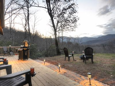 Photo for Cute Farmhouse Cottage in the Great Smoky Mountains - Spectacular Mountain View