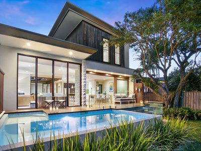 Photo for Luxury Manly beach house with pool