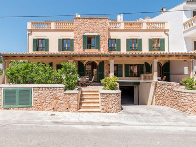 Photo for House decorated in Majorcan style on the beach