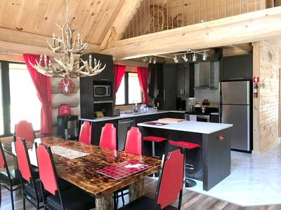 Photo for Homerez last minute deal - Beautiful chalet near the beach