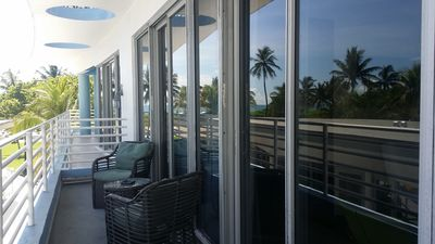Photo for 1BR Oceanfront Condo Suite w/Views & Rooftop Pool - Ocean Drive - South Beach