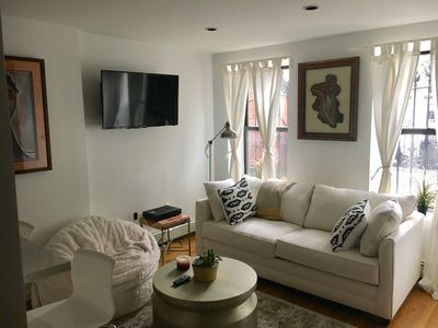 Photo for Newly Renovated Brownstone Apartment in historic area