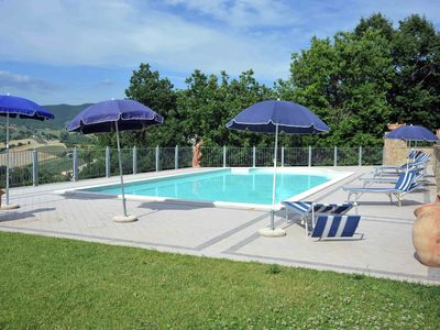 Photo for Mansion in Umbria with Swimming Pool, Garden, Terrace, BBQ