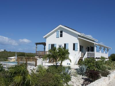 Photo for Flame Tree Cottage | Private home with pool and ocean view | 1/2 mile to beach