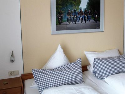 Photo for Double Room, Shower, Toilet / Standard - Hotel-Restaurant Hüllen