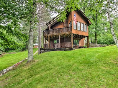 Photo for 3BR+ Waterfront Fifty Lakes Home w/ Dock & Kayaks!
