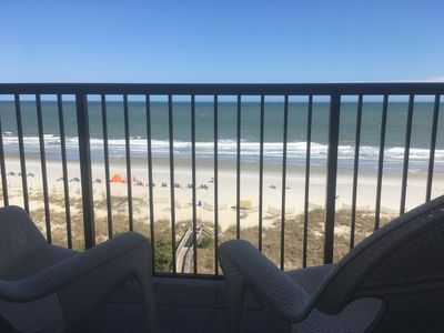 Photo for Oceanfront 1 bedroom suite at Beach Colony Resort