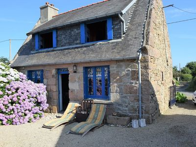 Photo for Breton cottage 2km from the beach of Trestraou and downtown Perros-Guirec