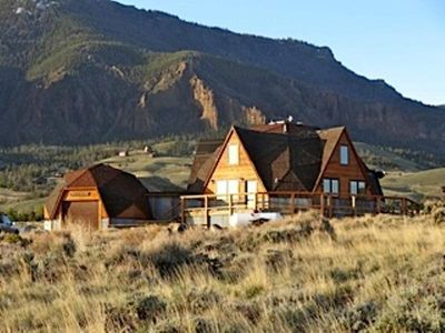 Photo for Unique Home Near Yellowstone, Overlooking The Wapiti Valley