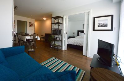 """Photo for """"Sundial Suite"""" 2 bdrm Condo starting at $215.00 CAD including secure parking"""