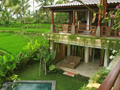 Photo for Look No Further! 3BR luxury Villa Solera in ricefields, short walk to Ubud