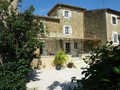 Photo for Gite in Mas Provencal close to the village center of Oppède.