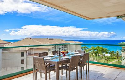 Photo for Maui Resort Rentals: Honua Kai - 8th Floor Penthouse, 3 Full Bedrooms, Partial Ocean AND West Maui Mountain Views!