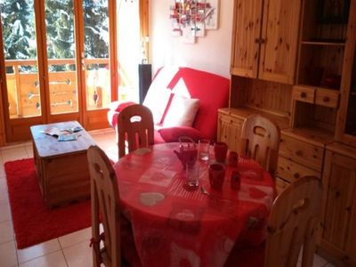 Photo for Apartment Les Deux Alpes, studio flat, 4 persons