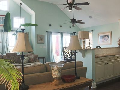 Photo for By the Bay Beautiful and Quite 4 Bedroom Shore House with Fenced In Back Yard
