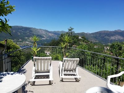 Photo for Casa de Casarelhos for rent in Gerês with 3 bedrooms, Wifi, river views