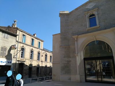 Photo for THE DOOR OF THE LUBERON, CENTER OF PERTUIS FACING THE MEDIATEQUE, CENTER ISTORIQUE