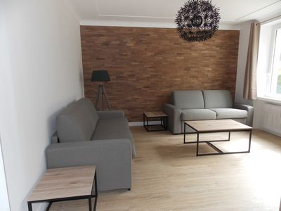 Photo for Renovated apartment with garden