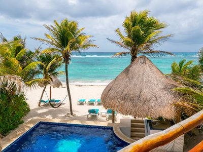 Photo for Put your toes in the water! Relax on a beautiful sandy beach in Akumal!