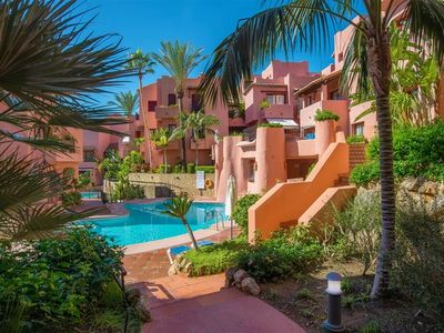 Photo for Fabulous 2 Bedroom Apartment in Elviria 100 meters To The Beach!