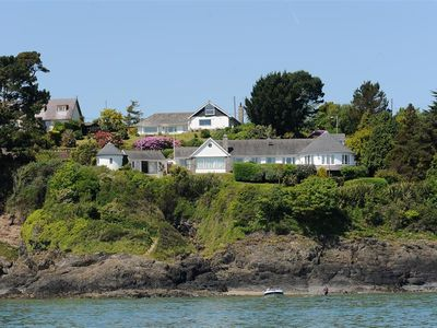 Photo for This incredible property sits in the most spectacular location on the edge of the water in Abersoch.