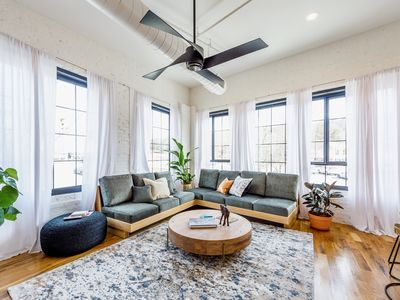 Photo for Wanderlust Lofts: The Sapphire, Luxury Haven Downtown