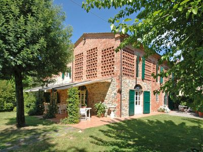 Photo for Stunning private villa with private pool, WIFI, A/C, TV, washing machine, panoramic view, parking