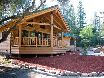 Photo for New Cedar Log Home at Yosemite Gateway