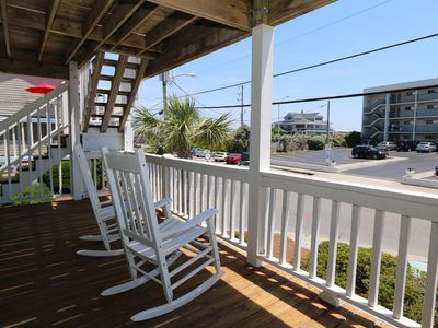 Photo for Sunset Ave– 1 bedroom ocean view condo on the south end of Wrightsville Beach