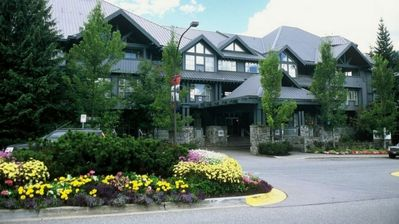 Located right at the base of Blackcomb Mtn, so convenient for accessing the hill