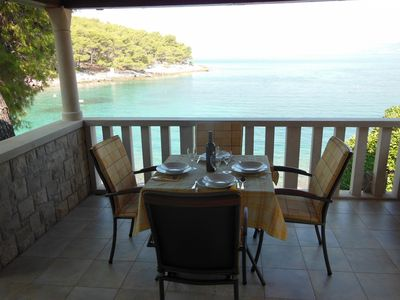Photo for Apartment Jakica  - Postira, Island Brac, Croatia