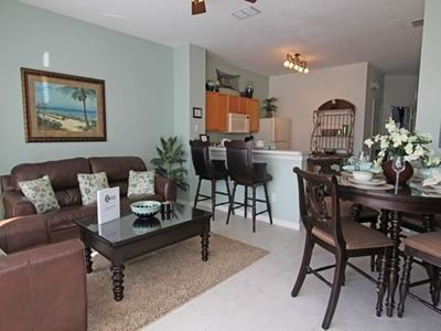 Photo for Gorgeous Windsor Palms Townhome, 5 Minutes From Disney, Private Pool, Free Amenities