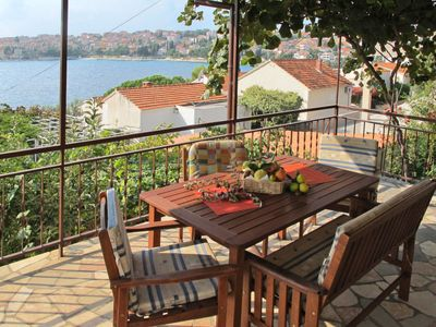 Photo for Apartment Martinis (TGR163) in Trogir - 4 persons, 2 bedrooms