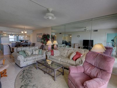 Photo for Lovely Condo w/Patio, Steps to Pool, Tennis, Private Beach Access, & More!